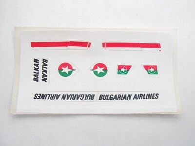 Vecchio,old,lot Stickers Giodi/ancien Montable Folie, Flughafen Air Bulgarian