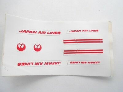 Vecchio,old Lot, Stickers Giodi/ancien Montable Folie,flughafen Japan Airline