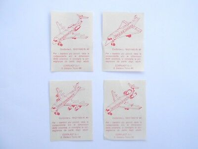 Vecchio, Lot,old Bpz Kinder/ancien Montable Bpz Passagierflugzeuge- Set Corplast