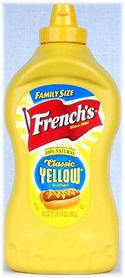 FRENCH'S  'Classic Yellow'  Mustard  Senf  850 Gramm Original aus USA
