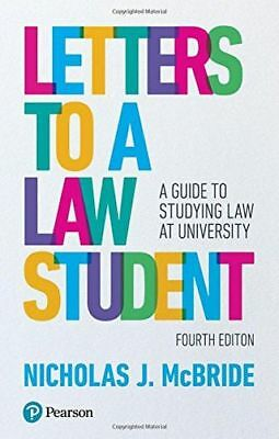 Letters to a Law Student: A guide to studying law at (Paperback) 1292149248