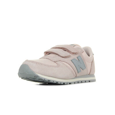 Chaussures Baskets New Balance fille KE420 NSY taille Rose Synthétique  Scratchs d923f9e13351