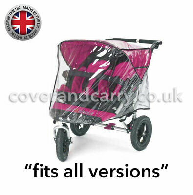 Raincover for Out'n'About Nipper 360 Double , supersoft made in the UK