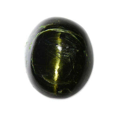 12.66cts_LIMITED EDITION COLLECTOR GEM_100% NATURAL UNHEATED ENSTATITE CAT'S EYE