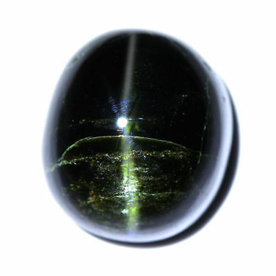 13.33cts_LIMITED EDITION COLLECTOR GEM_100% NATURAL UNHEATED ENSTATITE CAT'S EYE