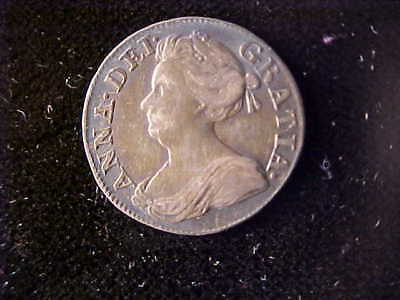 Anne Maundy Three Pence 1708