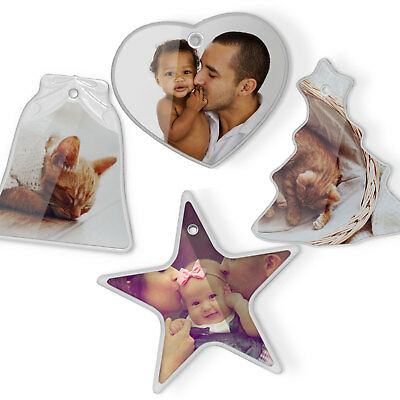 Custom Personalised Photo Ornament Gift Your Picture