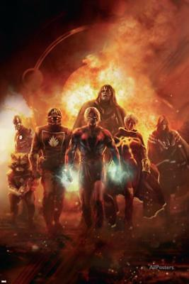 Annihilation: Conquest No.6 Cover: Adam Warlock, Quasar, Star-Lord and... Poster