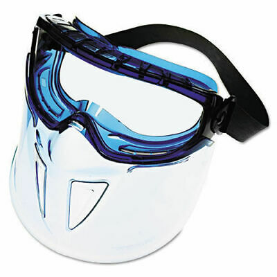 Jackson Safety V90 Series Face Shield Blue Frame Clear Lens