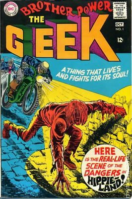 Brother Power the Geek #1 1968 GD/VG 3.0 Stock Image Low Grade