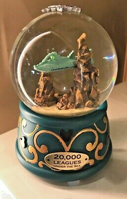 Disney Parks 20,000 Leagues Under The Sea Light-Up Snowglobe - New