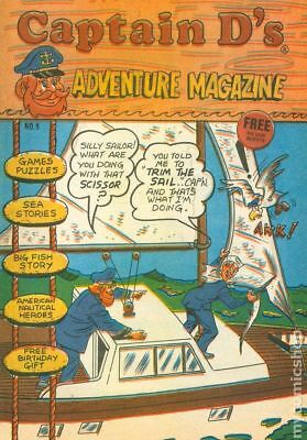 Captain Ds Adventure Magazine #9 VF 8.0 Stock Image