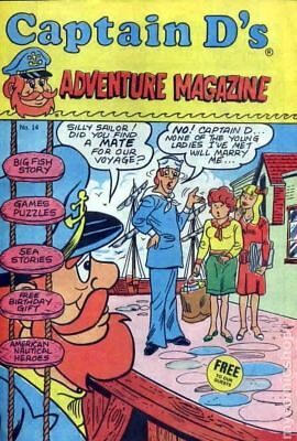 Captain Ds Adventure Magazine #14 VF- 7.5 Stock Image