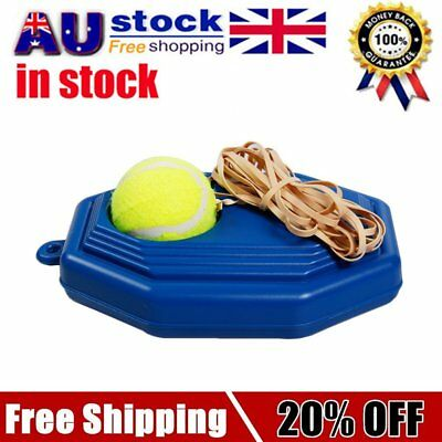 Portable Size Rebound Tennis Trainer Self-study Practical Beginner Training OS