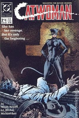 Catwoman (1st Series) #2 1989 FN Stock Image