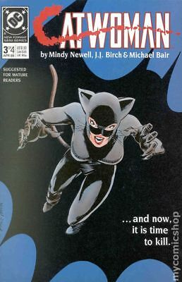 Catwoman (1st Series) #3 1989 VG Stock Image Low Grade