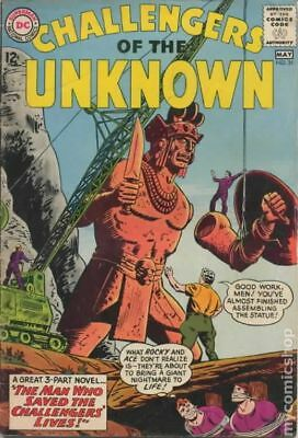 Challengers of the Unknown (DC 1st Series) #31 1963 VG 4.0 Stock Image