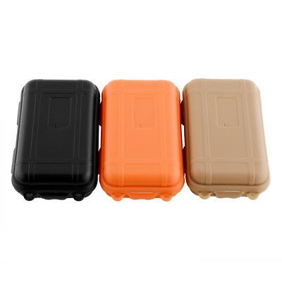 3 COLORS Plastic Waterproof Airtight Container Storage Carry Box Case KIT/TIN
