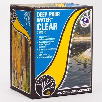 Woodland Scenics Ws-Cw4510 Deep Pour Water Clear