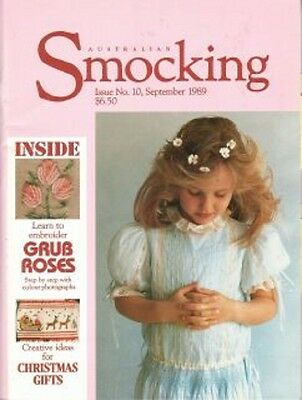 VINTAGE AUSTRALIAN SMOCKING & EMBROIDERY # 10 Rare and Out of Print