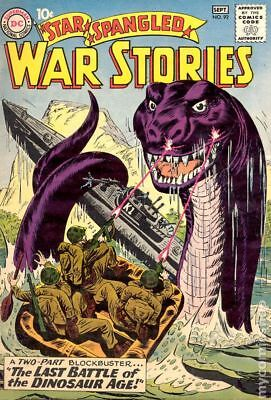 Star Spangled War Stories (DC) #3 to 204 #92 1960 GD- 1.8