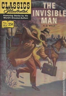 Classics Illustrated 153 The Invisible Man #7 1971 GD/VG 3.0 Stock Image