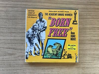 Vintage 8mm Home Movie ~ Born Free The Academy Award Winner
