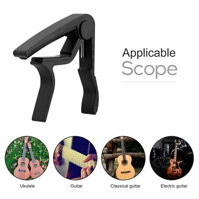 Electric & Acoustic Tune Quick Change Trigger 6 String Guitar Capo Key XR OK