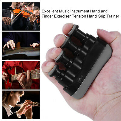 Excellent Music instrument Hand and Finger Exerciser Tension Hand Grip Trainer J