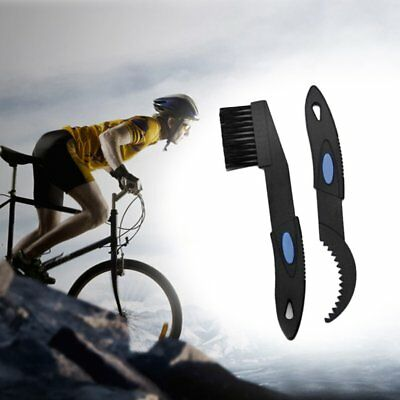 Bicycle Chain Clean Brush Cleaning Bike Cycling Cleaner Scrubber Tool Kit FU