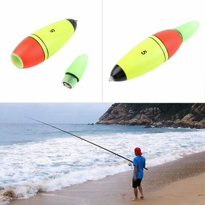 1pc Foam Fishing Lure Floats Slip Drift Tube LED Indicator Outdoor Accessory GU