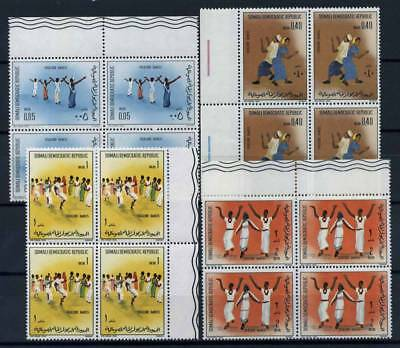 Somalia 1973 Mi. 199-202 Nuovo ** 100% Quartina Folklore Dances