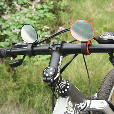 360 Degree Rotation Cycling Mountain Road Motorcycle Bicycle Rear View Mirror GU