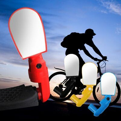 Rotate Safe Mountain Bike Motorcycle Reflective Mirror Rearview Handlebar GU