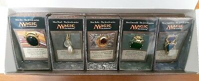 Magic Mtg - The Jewels Series Box Completo Mox Jet Ruby Emerald Pearl Sapphire