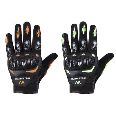 WOSAWE Outdoor Cycling Gloves Windproof Bicycle Motorcycle Full Finger Gloves PP