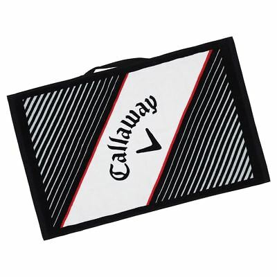 "Callaway Golf 2018 Cotton Cart Performance Mens Golf Bag Towel 16""x24"""