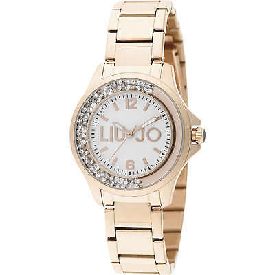 Liu Jo Orologio Donna Oro Rosa Dancing Strass TLJ589 Ramato Watch Woman Uhr  New d5fa61a4e78
