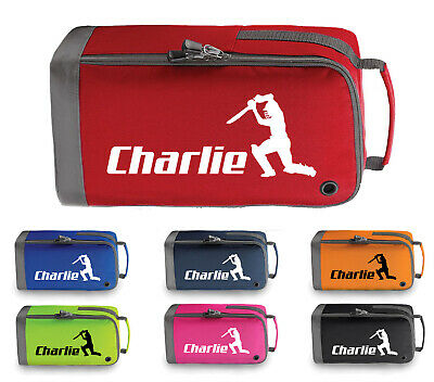 Personalised Childrens Cricket Boot Bag Kids Sports Pe Kit Sport Gift