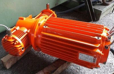 Dilo Motor Compressor TM25B from Vacuum and Refill Gas Cart Type: 3-010-R001