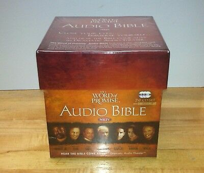 The Word of Promise New King James Audio Bible by Thomas Nelson (2009, CD)