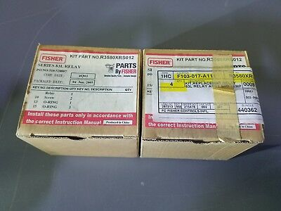 Fisher Controls Relay Replacement Kit part number- R3580XRS012 NEW SURPLUS