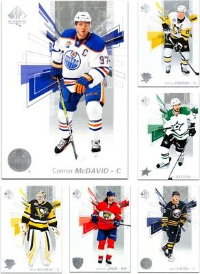 2016-17 SP Authentic **** PICK YOUR CARD **** From The Base SET