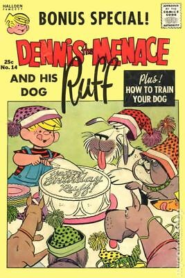 Dennis the Menace and His Dog Ruff (Giants) #14 1963 VG 4.0 Stock Image