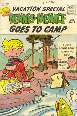 Dennis the Menace Goes to Camp (Giants) #9A 1961 1st Printing GD/VG 3.0