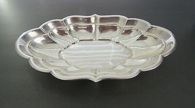 Windsor by Reed & Barton Antique  Sterling Silver  Oval Bread Tray #X958R