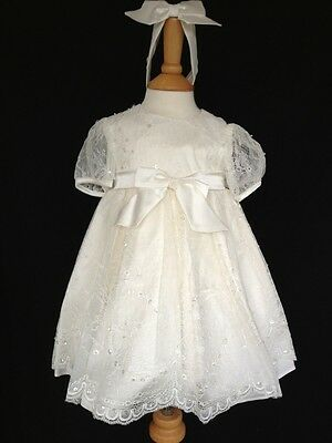 BNWT Girls Silk Occasional Dress / Band By Little Darlings (6 Months) RRP £110