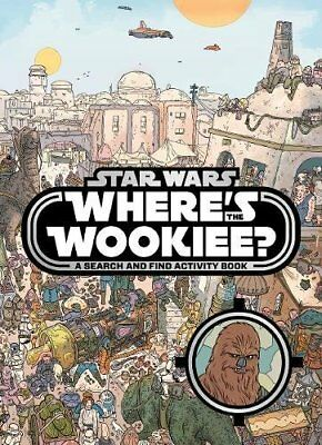 Star Wars: Wheres the Wookiee? Search and Find Book-LucasFilm