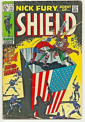 Nick Fury, Agent of SHIELD #13 July 1969 Silver Age Marvel Comics FR/GD
