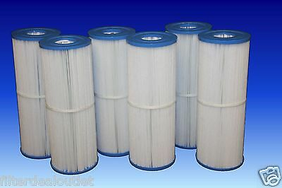6 PACK Closeout SPA FILTERS FIT C4326 UNICEL C-4326, PLEATCO PRB25-IN, FC-2375